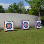 Jarman Centre Archery - three bosses available