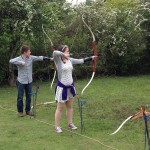 Jarman Centre Archery - tuition for adults . . .