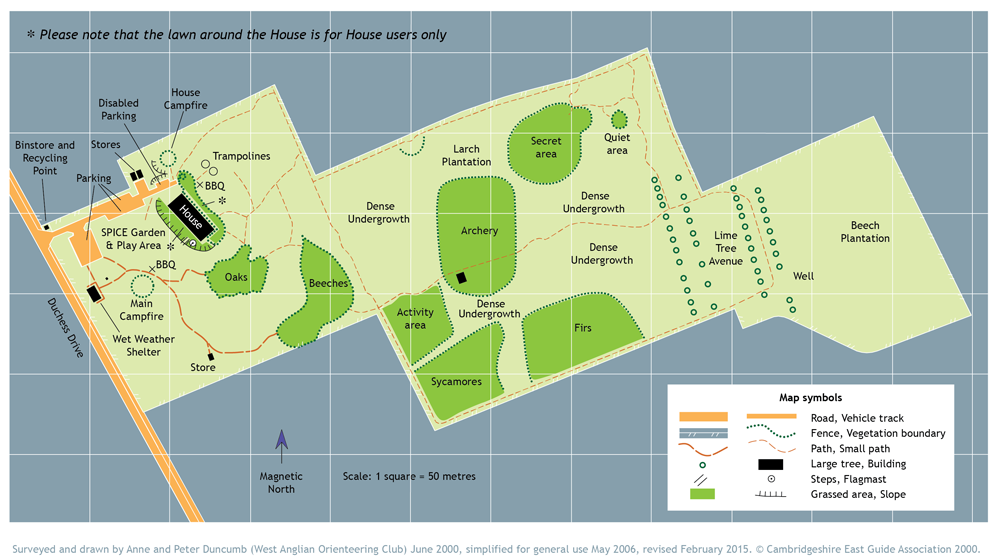 Jarman Centre Map